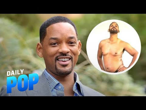 Will Smith Partnering With YouTube to Ditch Dad Bod | Daily Pop | E! News