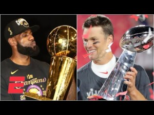 LeBron or Tom Brady: Who will win more titles from this point forward in their career? | #Greeny