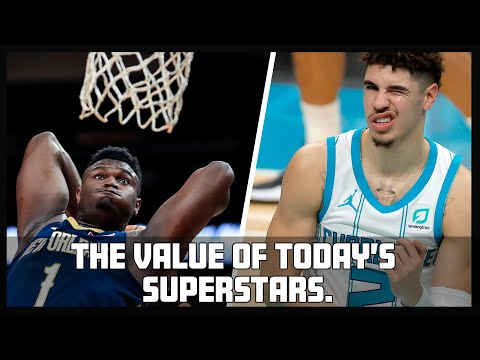 Assessing the rookie card value of today's superstars like Lamelo Ball, Zion Williamson and others.