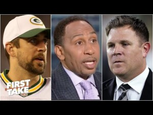 Stephen A. reacts to Aaron Rodgers calling Packers GM Brian Gutekunst 'Jerry Krause' | First Take