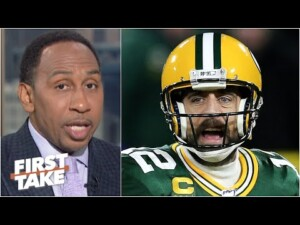 That bad man Aaron Rodgers 'looks weak' – Stephen A. on the Packers situation | First Take