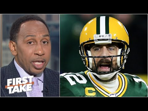 That bad man Aaron Rodgers 'looks weak' – Stephen A. on the Packers situation   First Take