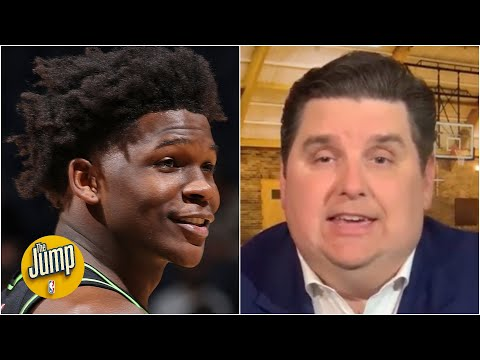 Anthony Edwards had one of the greatest shooting performances I've ever seen –  Windhorst | The Jump