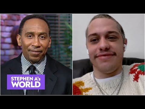 Pete Davidson talks Knicks, Nets, Suns & makes his NBA title prediction | Stephen A.'s World