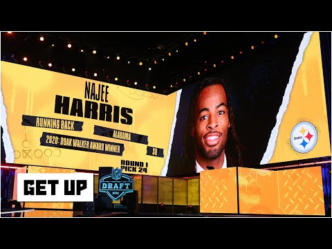 Is Najee Harris enough to prevent a losing season for the Steelers this year? | Get Up