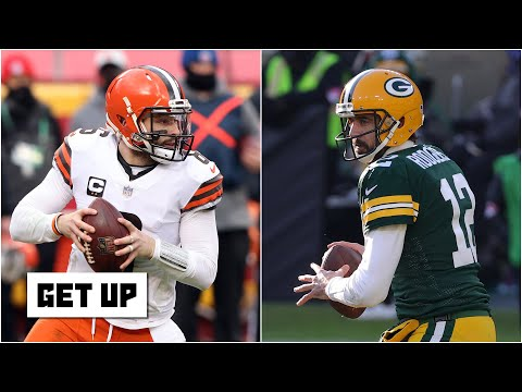 Baker Mayfield or Aaron Rodgers: Who gives the Browns a better chance to win a Super Bowl? | Get Up