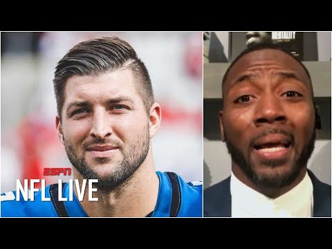 Reacting to Tim Tebow signing with Urban Meyer's Jaguars as a tight end | NFL Live