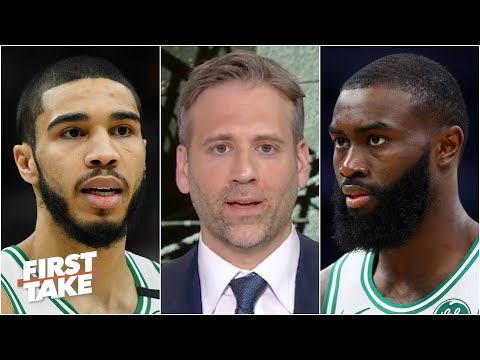 Max says the Celtics can't win a title with Jaylen Brown & Jayson Tatum as their best players