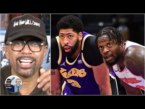 Jalen Rose reacts to Knicks vs. Lakers and gets hyped for the play-in tournament | Jalen & Jacoby
