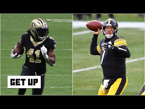 Why the Saints and the Steelers are most in danger of missing the playoffs this season | Get Up