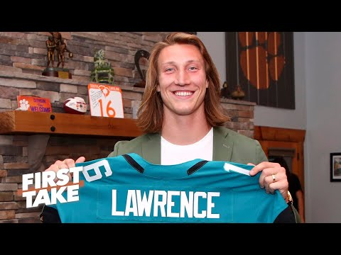 First Take's rookie QB predictions: Will Trevor Lawrence win NFL MVP?