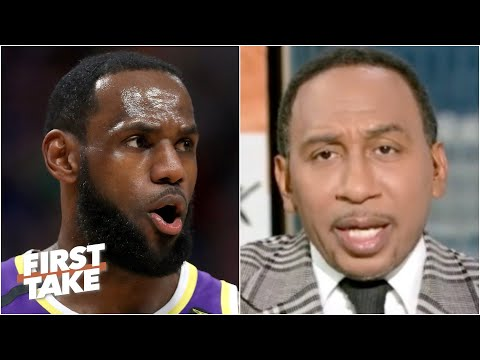 Stephen A. warns LeBron: Watch out for Steph Curry in the play-in tournament | First Take