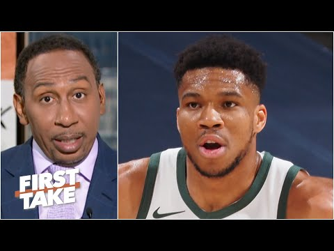All eyes should be on Giannis – Stephen A. says The Greek Freak is facing pressure   First Take
