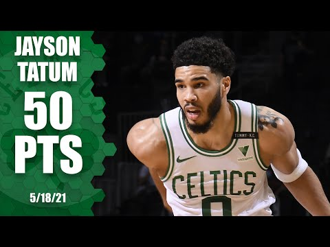 ☘️ Jayson Tatum drops 50 POINTS in play-in game ‼️ | NBA Highlights