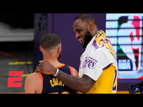 Steph looked at LeBron in disbelief after that game-winning shot! – JWill | KJZ