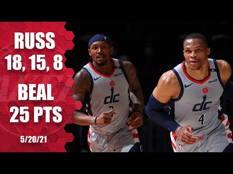 Russ & Beal guide Wizards BLOW OUT in W‼️   NBA Highlights