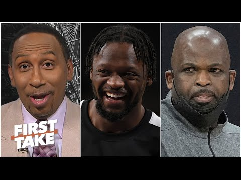 'You scared of Julius Randle?!' – Stephen A. reacts to Nate McMillan's Knicks comments | First Take
