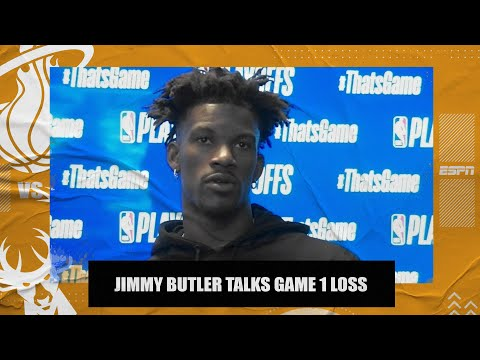 Jimmy Butler says he needs to do better after going 4-for-22 in Heat's Game 1 loss | NBA on ESPN