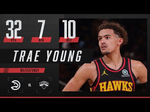 Trae Young's playoff debut is 🔥 | 2021 NBA Playoffs