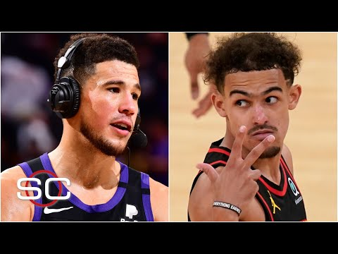 Trae Young and Devin Booker shine in their playoff debuts | SportsCenter