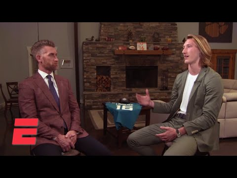 Trevor Lawrence sits down with Marty Smith after going No. 1 overall | Marty & McGee