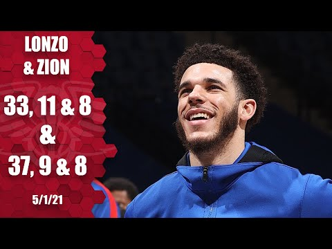 Lonzo Ball (career high!) & Zion Williamson GO OFF in Pelicans' OT win vs. Wolves | NBA Highlights