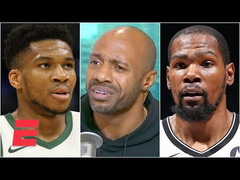 Reacting to Giannis' postgame comments about Kevin Durant following Bucks vs. Nets   KJZ