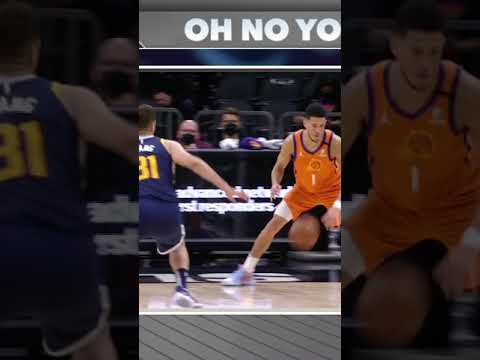 Stephen A. says 'Oh No You Didn't' to Devin Booker's filthy crossover on Rudy Gobert #Shorts