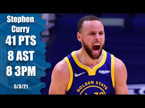 Steph GOES OFF for 41 PTS vs. Pelicans!