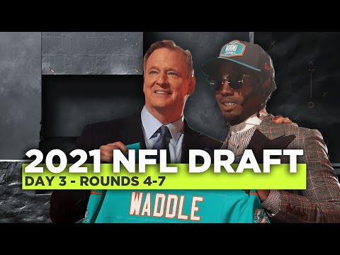 2021 #NFLDraft Day 3: Rounds 4-7 LIVE reaction and analysis | NFL on ESPN