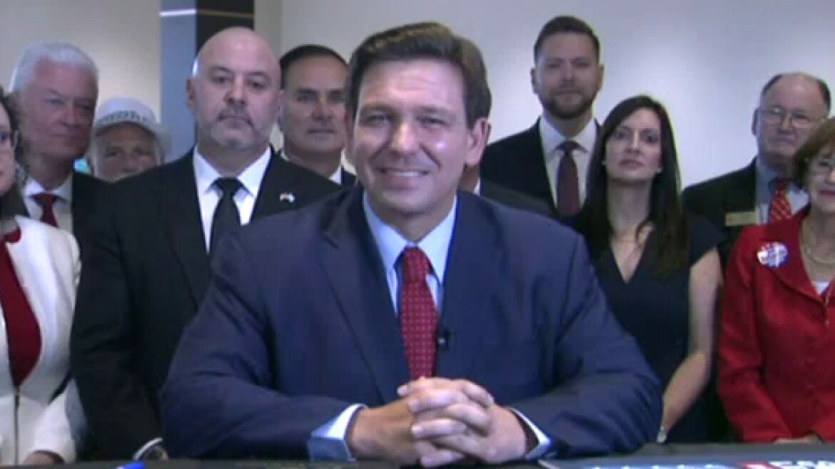 DeSantis signs Florida election bill limiting drop boxes, mail-in voting live on 'Fox & Friends'