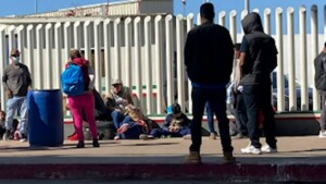 DHS chief Mayorkas tours border facility, says hundreds of migrant kids still coming over every day