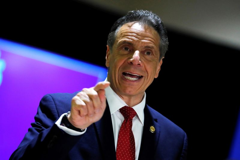 Most pandemic-era capacity restrictions to end in tri-state area May 19 -NY governor Cuomo