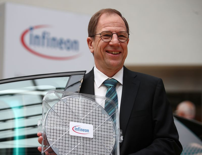 Infineon points finger at contract partners over chip shortages