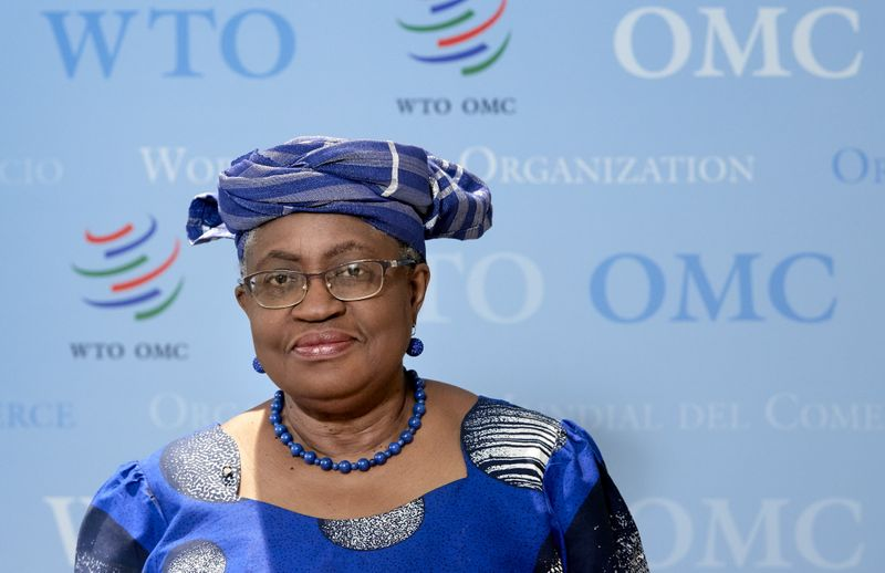 WTO head welcomes U.S. vaccine move, urges rapid start of negotiations