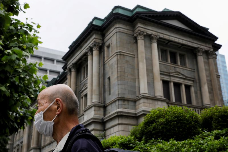 BOJ policymakers warned of risks to recovery prospects at April meeting