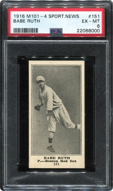 Hitting it out of the park: Baseball card legacy could smash records