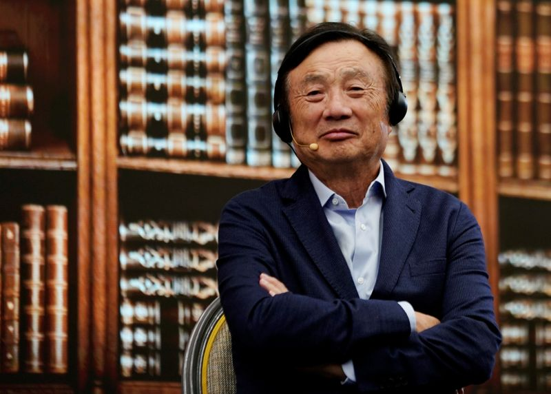 Exclusive: Huawei founder urges shift to software to counter U.S. sanctions
