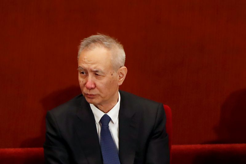 China vice premier holds talks with U.S. trade chief