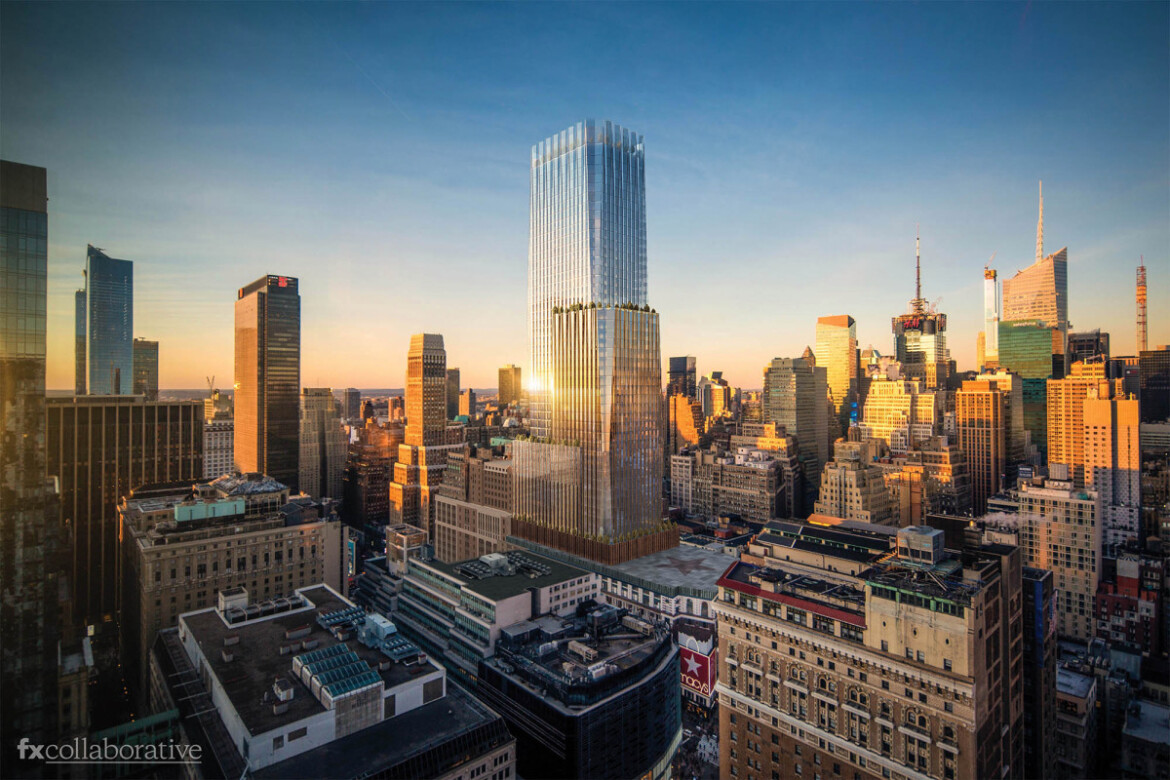 Macy's to build office tower atop Herald Square flagship store