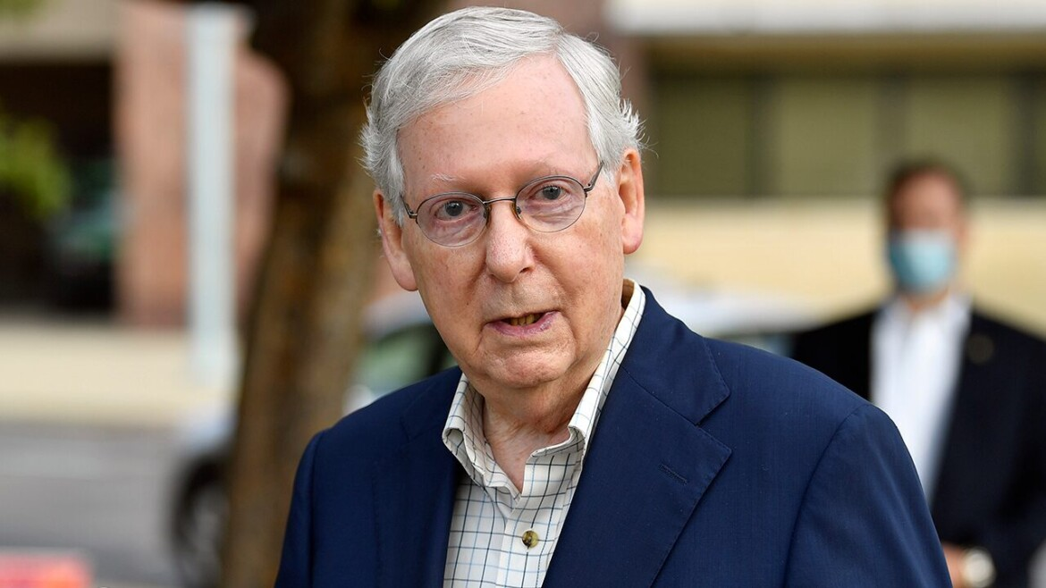 McConnell dodges questions about Liz Cheney