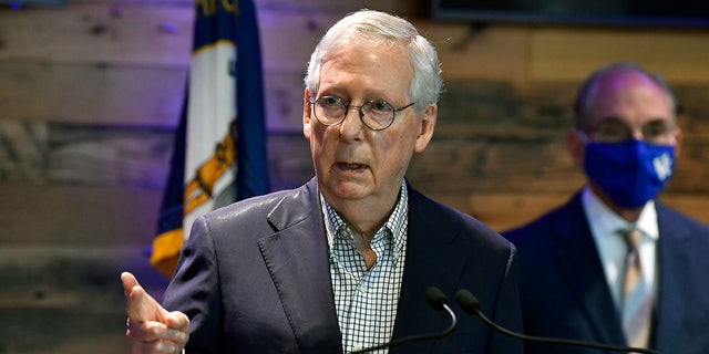 McConnell says 'real chance' Biden, Dems could work with GOP on 'bipartisan' infrastructure bill