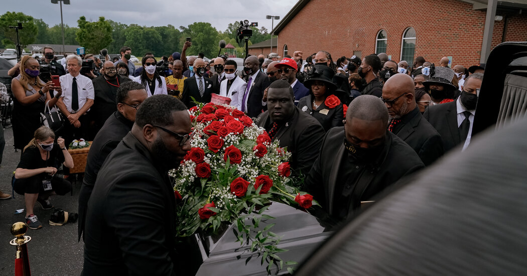 Andrew Brown Funeral Features Pain of Police Killings