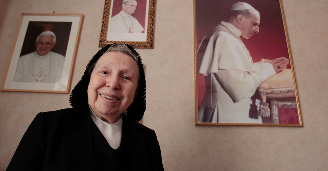 Sister Margherita Marchione, Defender of Pius XII, Dies at 99