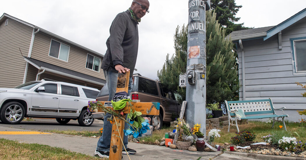 3 Tacoma Police Officers Charged in Killing of Black Man