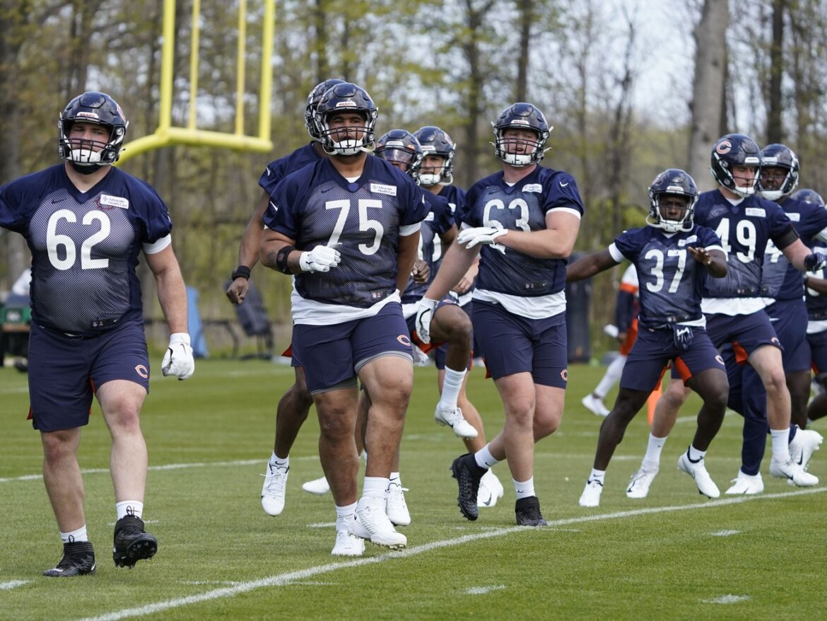 Bears rookie Larry Borom: 'I can pass block with the best of them'