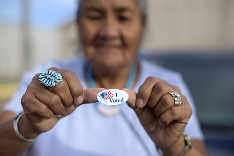 Navajos say new Arizona restrictions will complicate voting