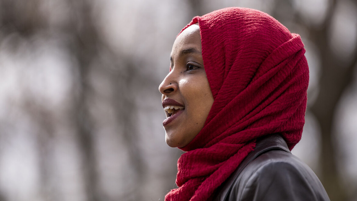 Ilhan Omar's daughter, a prominent climate activist, adds communist hammer and sickle to Twitter bio