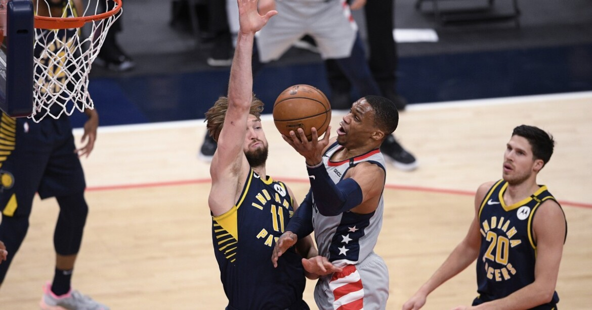 NBA play-in: Bradley Beal, Russell Westbrook lead Wizards past Pacers for East 8th seed