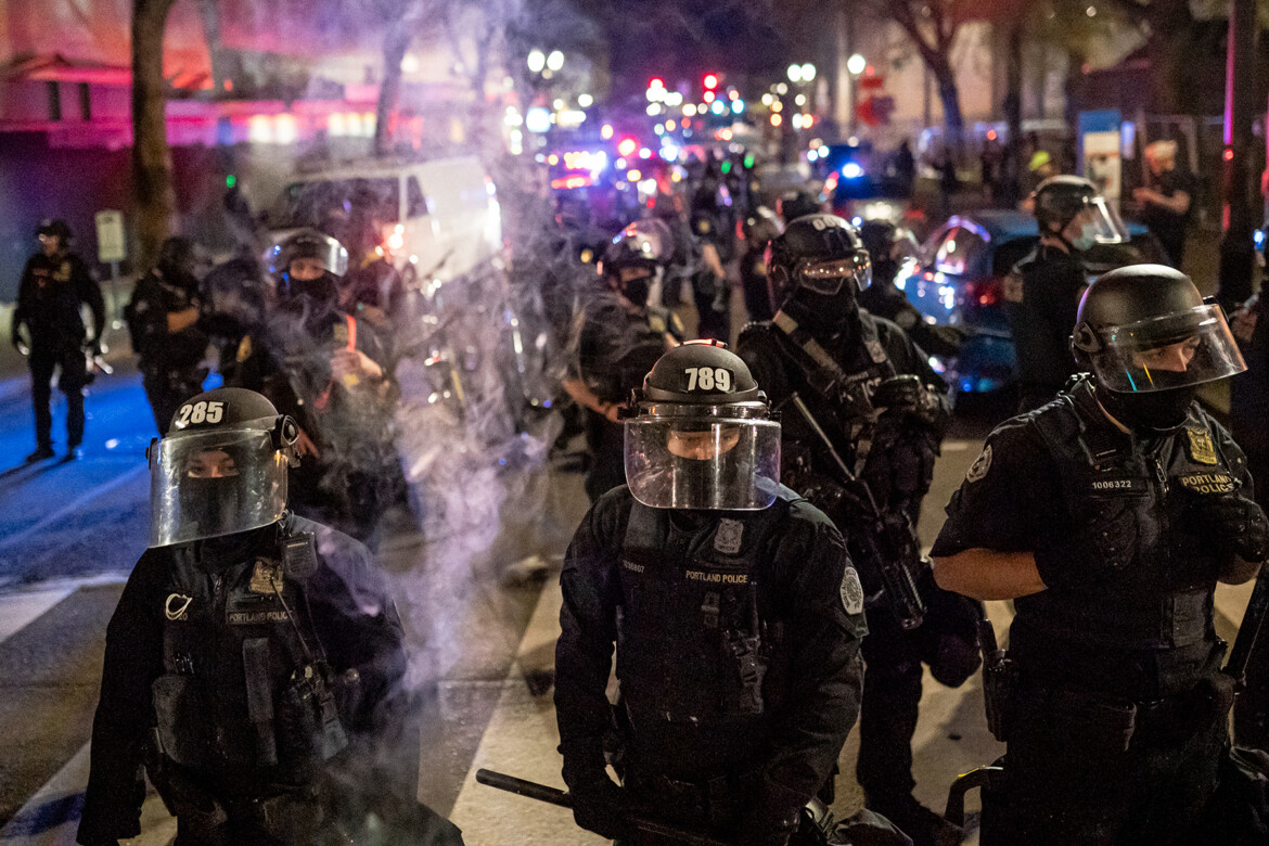 Justice Department Slams Portland Police for Unconstitutional Abuses
